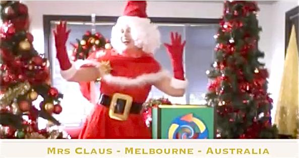 Mrs Claus.Magic show