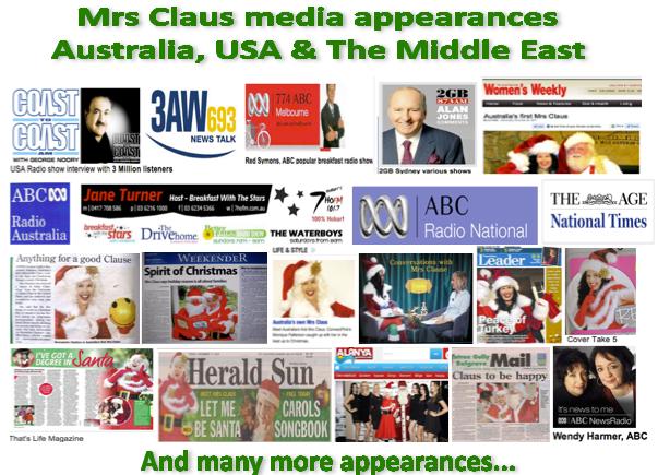 sample media mrs claus melbourne australia