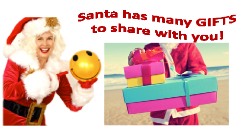 santa gifts to share with you